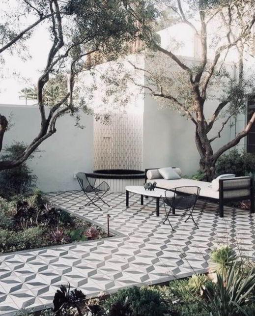 Ceramic Tiles for Patio Border