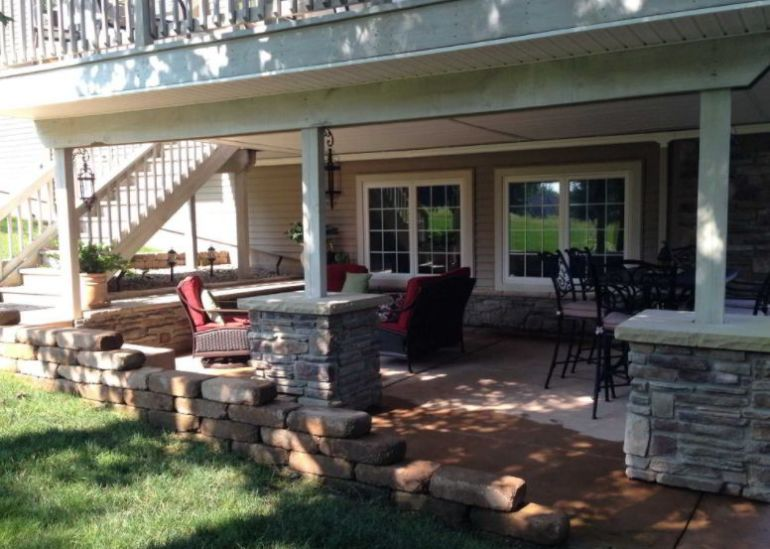 Vibrant Under Deck Patio Ideas