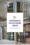 11+ Incredible Patio Door Ideas and Inspiration for Various Interiors