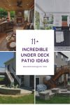 11 Incredible Under Deck Patio Ideas to Fill Your Empty Space
