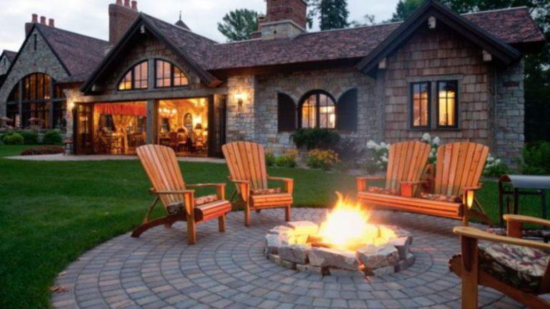 Circular patio ideas