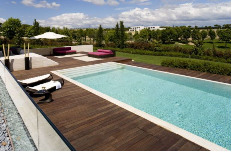 Outdoor Pool Deck Concept