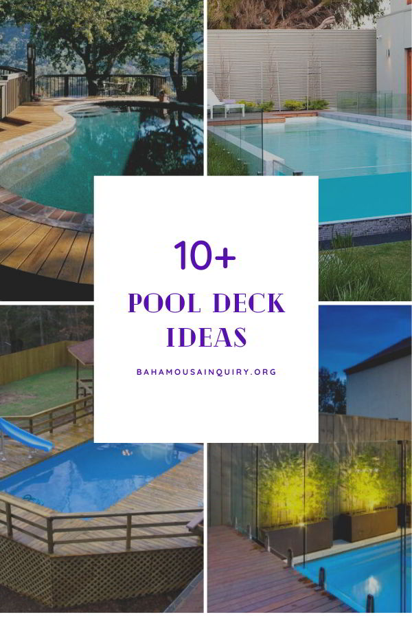 Best pool deck ideas