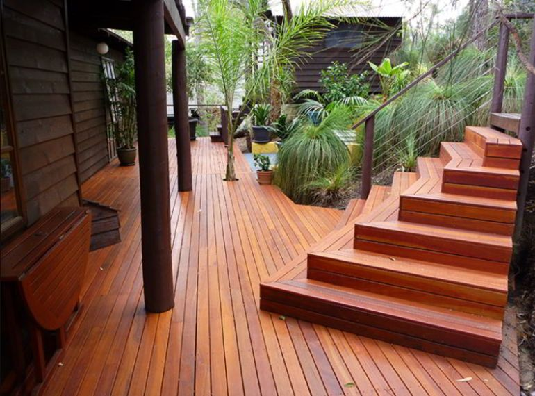 Best Assymetrical Deck Stairs