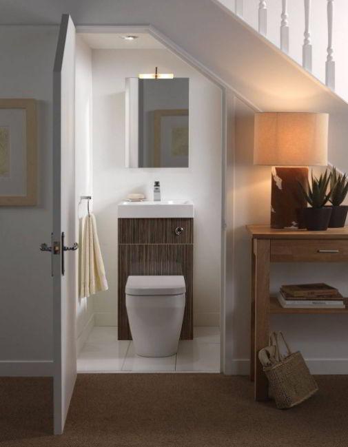 Best Bathroom Under Stairs