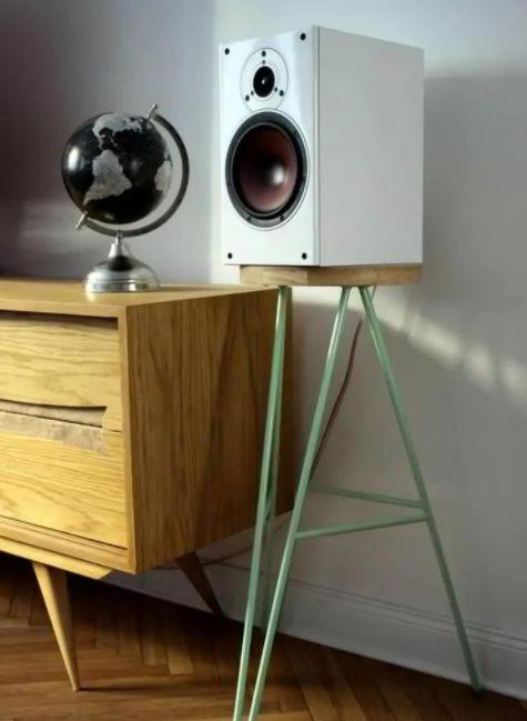 Chic DIY Speaker Stands