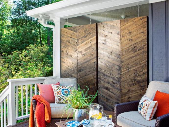 patio wall ideas
