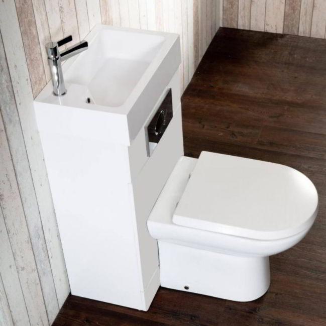 Washbasin and Toilet Unit