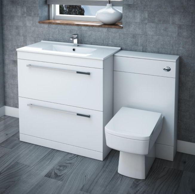 White Toilet Unit Ideas