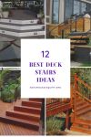 12 Best Deck Stairs Ideas to Update Your Outdoor Space