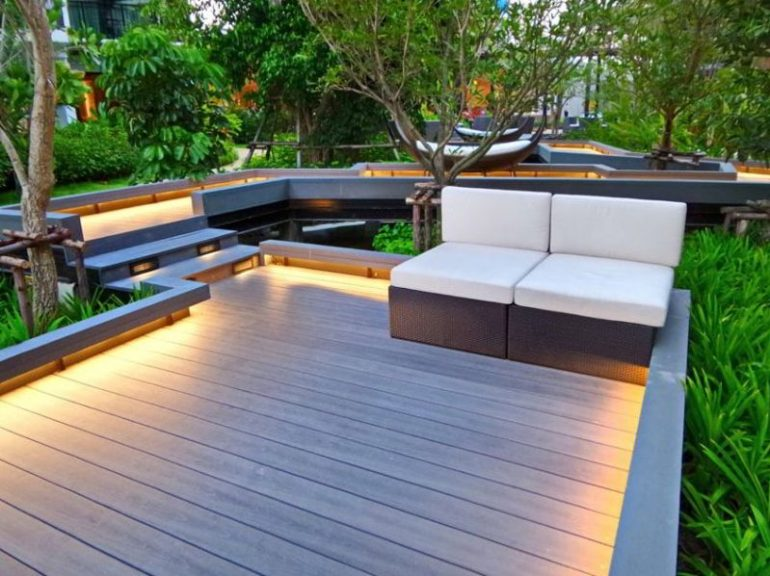 Contemporary Wood Deck Ideas