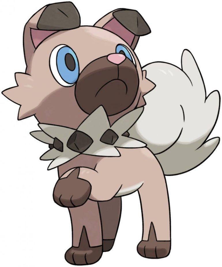 Rockruff pokemon