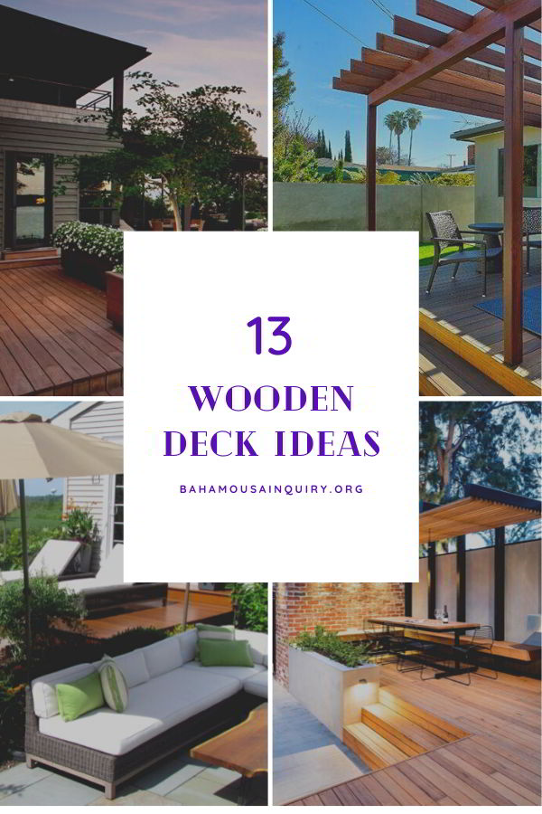 Best wood deck ideas
