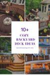 10+ Cozy and Warmth Backyard Deck Ideas
