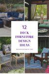12 Best Outdoor Deck Furniture Design Ideas