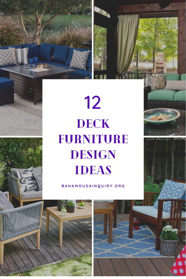 Best deck furniture ideas