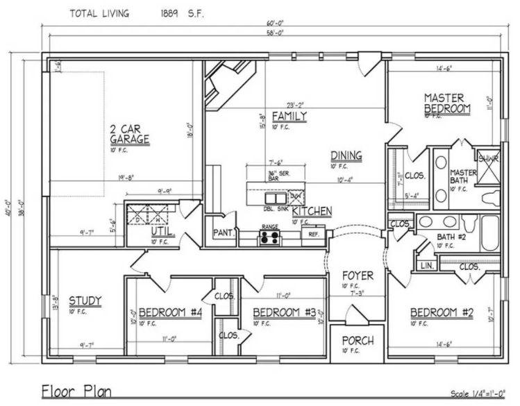 barndominium floor plans for more rooms