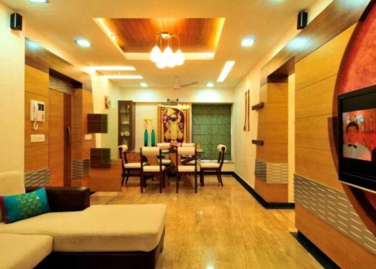 Contemporary Indian Style Living Room