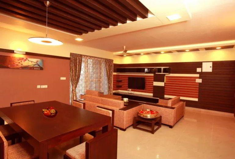 Indian Style Hall Interior Design