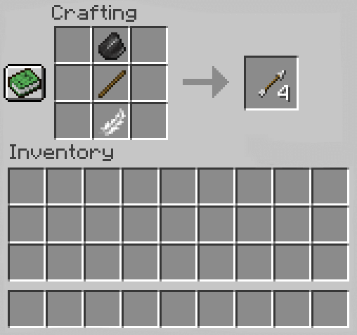 Add Materials to the Crafting Table