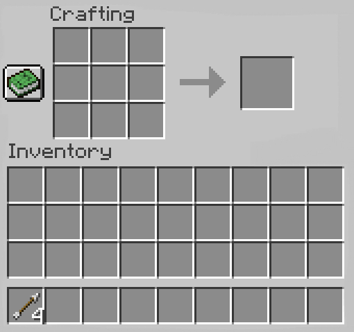move the arrows to inventory