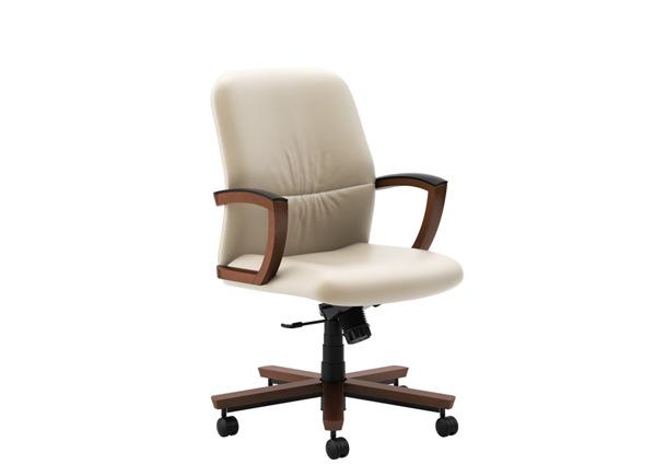 kursi direktur putih