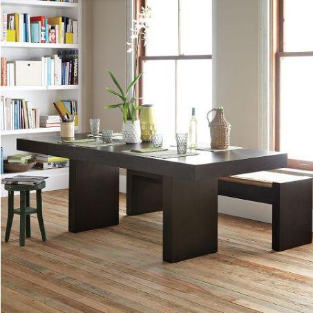 meja makan minimalis natural