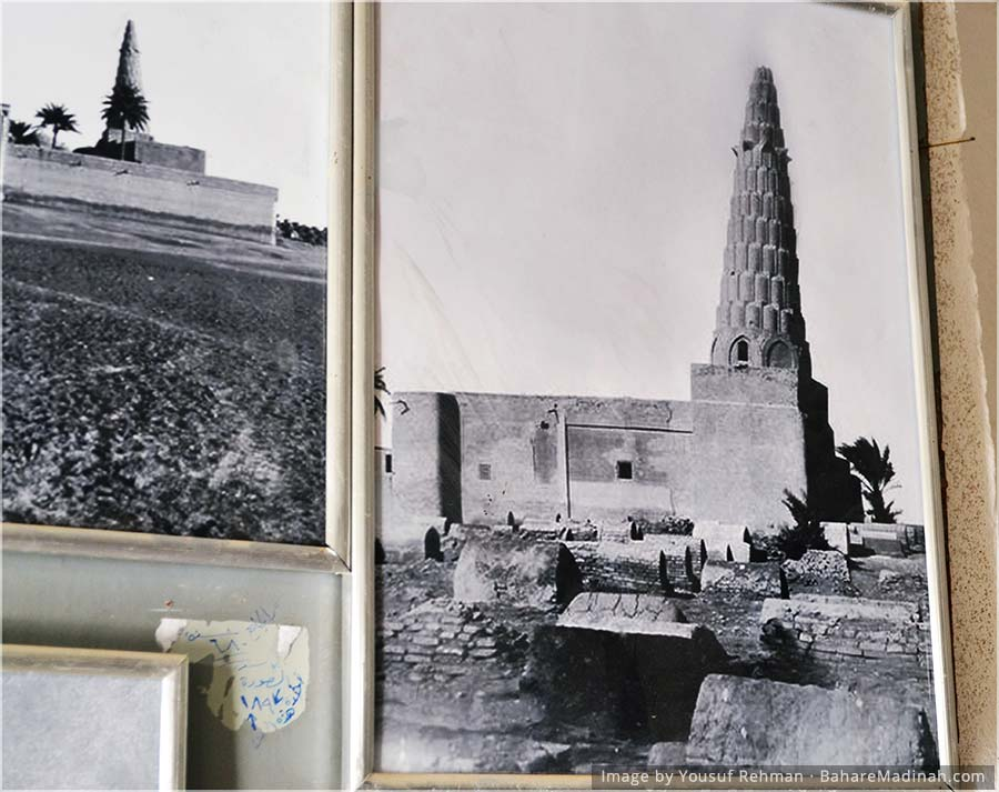 Old Photos inside the Mausoleum of Imam Umar al Suhrawardi · Baghdad, Iraq (2013)