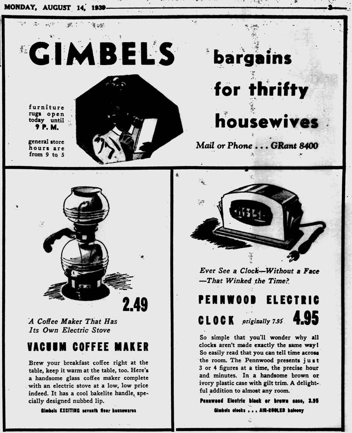 Vacuum Coffee Pots Advertizing Amp Documentation