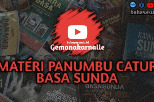 MATERI PANUMBU CATUR BAHASA SUNDA