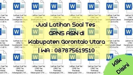 Soal Tes CPNS ASN di Kabupaten Gorontalo Utara