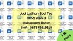 "Jual Latihan Soal Tes CPNS ASN di Kabupaten Buton | WA : <a href=""tel:087875619510"">087875619510</a>"