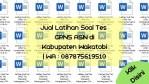 "Jual Latihan Soal Tes CPNS ASN di Kabupaten Wakatobi | WA : <a href=""tel:087875619510"">087875619510</a>"