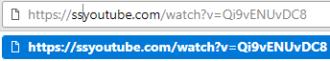 "Hilangkan ""m."" dan ganti dengan ""ss"" di search bar video"