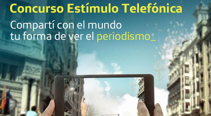 "Telefónica lanza concurso ""Estímulo"" sobre periodismo digital"
