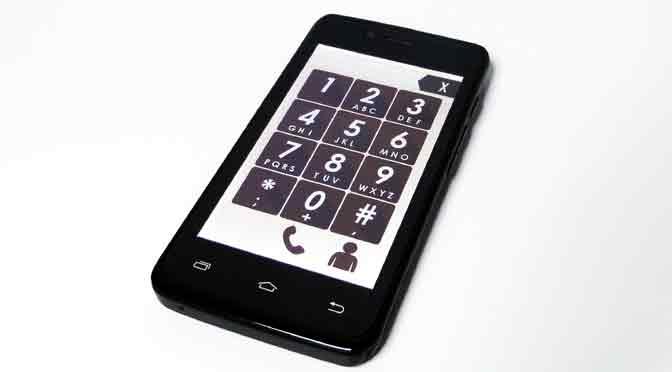 Coradir Senior, un teléfono móvil para adultos mayores