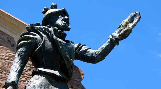 Esculturas del centro histórico de Córdoba