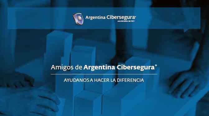 Se lanzó el programa «Amigos de Argentina Cibersegura»