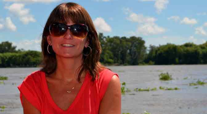 Mujeres y periodistas: Cecilia Novoa