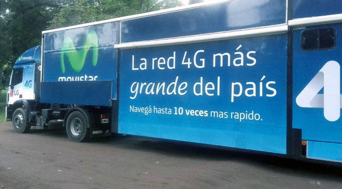 Movistar y LG salen a demostrar 4G en 10 ciudades argentinas