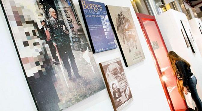 Borges, eje de una muestra universal de su obra en la Feria del Libro