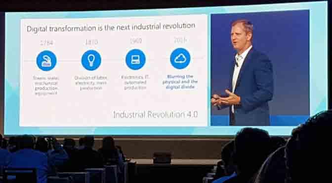 Microsoft muestra sus cartas para llevar a las empresas a la próxima revolución industrial
