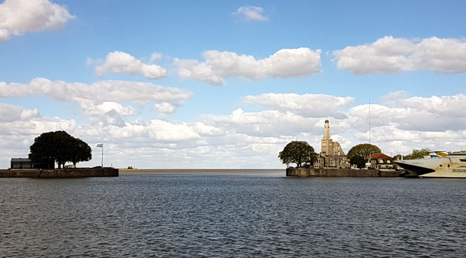 Dársena Norte, mirador especial del río de la Plata en Buenos Aires