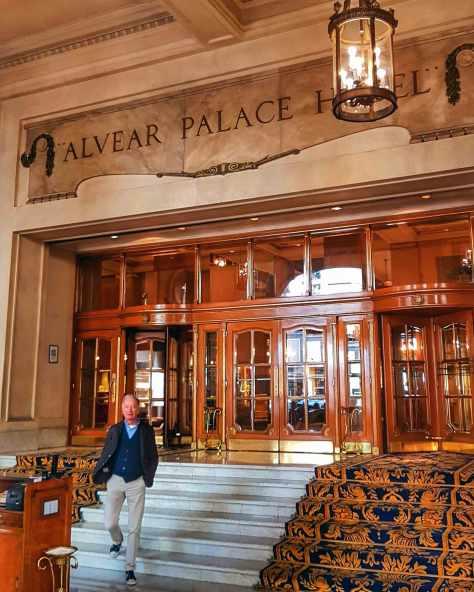 Alvear Palace Hotel.