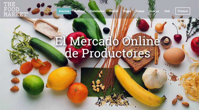 The Food Market, un sitio de «e-commerce» que impulsa la comida sana