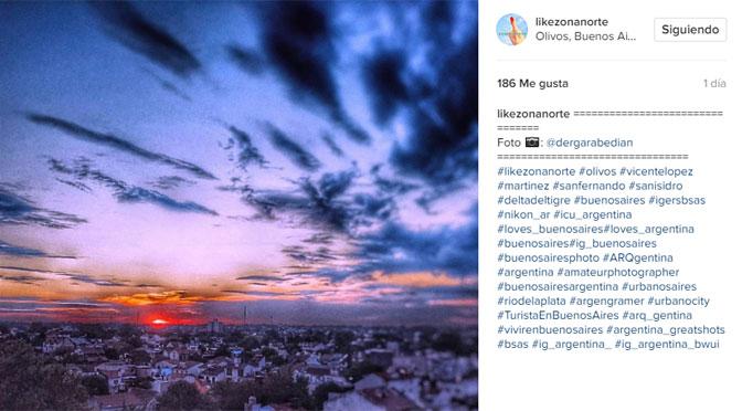 Norte del Gran Buenos Aires, según mi lente y Like Zona Norte