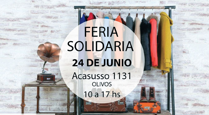 Feria solidaria en el norte del Gran Buenos Aires