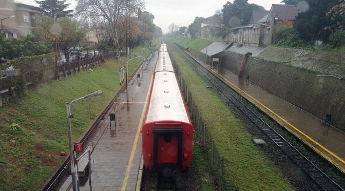 Inicio y fin de un viaje ferroviario en Buenos Aires