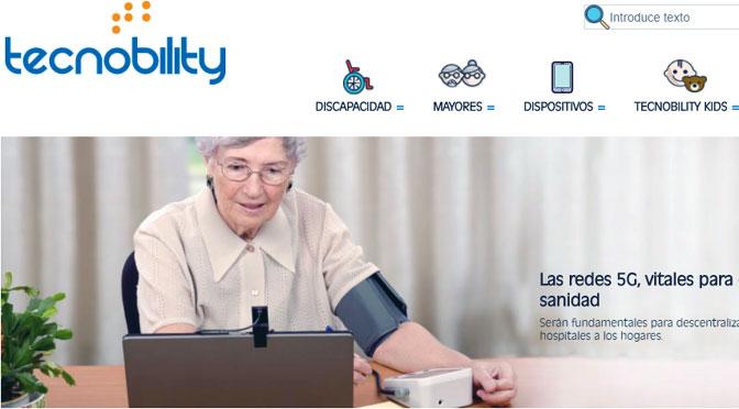 Tecnobility, noticias de tecnología para adultos mayores y personas con discapacidad