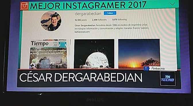 Mi perfil en Instagram, ganador del premio PONG al «instagramer» 2017